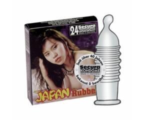 Secura Japan Rubber 24 pcs
