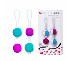 Kegel balls, one ball, two balls, and extra ball for replacement, 31mm/36mm, Weight 30g/40g, silico